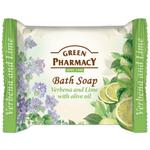 Тоалетен сапун с върбинка, лайм и маслиново масло